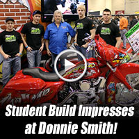 Buffalo Chip Bike Build Project Wins Donnie Smith Bike Show Award
