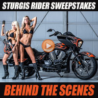 Enter for Your Chance to Win the Sturgis Rider Sweepstakes