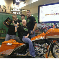 High school students take home first place at Donnie Smith Bike Show