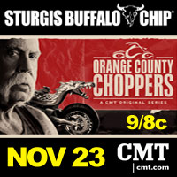 Orange County Choppers Honors Veteran at Sturgis Rally Festival
