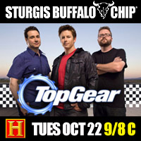 Biker Band Brought to Buffalo Chip Stage by Top Gear Hosts