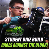 Student Bike Build Project Up Against Challenging Schedule