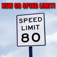 Twist the throttle up to 80 MPH on South Dakota I-90