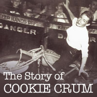 Cookie Crum was one of first women riders in the motordrome