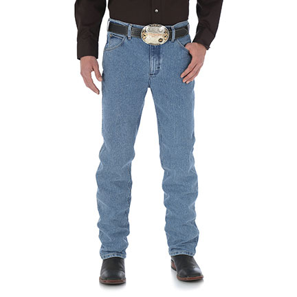 ded0fb82 Feel as free as when you're on the open road in new Wrangler® Premium  Performance Cool Vantage™ Cowboy Cut jeans with superior moisture-wicking  technology.