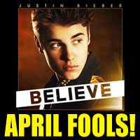 The Buffalo Chip's Justin Bieber prank made lots of April Fools.