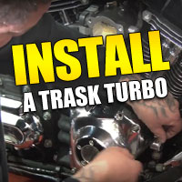 A Trask Performance Turbo System is a quick and affordable way to seriously upgrade the performance of your Stock American V-Twin.