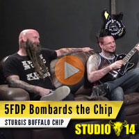 Win a Guitar Jason Hook of Five Finger Death Punch Played in this Video