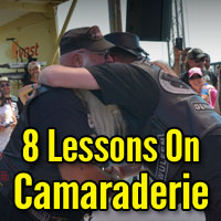 Biker friends will teach you everything you need to know about camaraderie