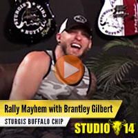 Brantley Gilbert lines out plan to create Sturgis Rally mayhem with flamethrowers, burnouts and ziplines.