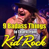Kid Rock returns to Chip's August Music Festival in 2016 to teach us all a thing or two about how to be badass.