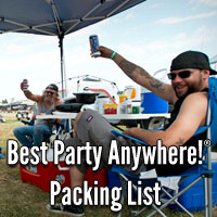 This Festival Packing List will make your life much easier.