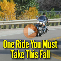 Spearfish Canyon Offers its Best Motorcycle Rides During Autumn