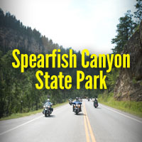 One of the world's best motorcycle rides, Spearfish Canyon, may become the location of a brand new state park.