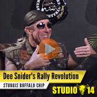 Dee Snider Swings by Studio 14 and Tells Us About His Love of the Sturgis Rally, Cinnamon Rolls, and Pool-Sized Ball Pits