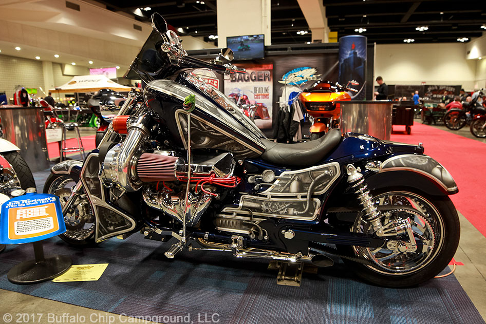 Donnie Smith Show 2017: The Coolest Custom Motorcycles and