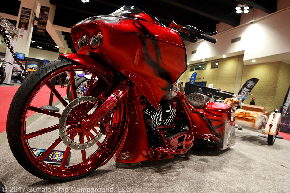 Thought To Bring Good Luck The Sugar Skulls Seen Across This Bagger S Gorgeous Red Paint Clearly Lived Up Lore Hints Of Theme Could Be