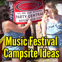 Music Festival Campsite Ideas That'll Up Your Party Game