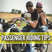 Motorcycle passenger mounting and dismounting tips that will keep you, your passenger and your bike safe.