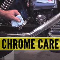 Motorcycle Chrome Polishing Tips Show You How to Remove Burned Rubber, Tackle Blue Chrome and Handle Scratches