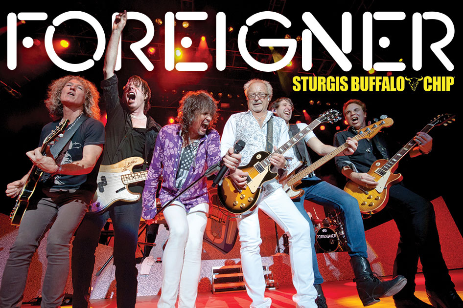one of the greatest rock bands of all time foreigner to detonate sturgis buffalo chip opening. Black Bedroom Furniture Sets. Home Design Ideas