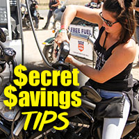 Take advantage of these money-saving deals on your vacation at the Sturgis Buffalo Chip to keep your wallet fat.