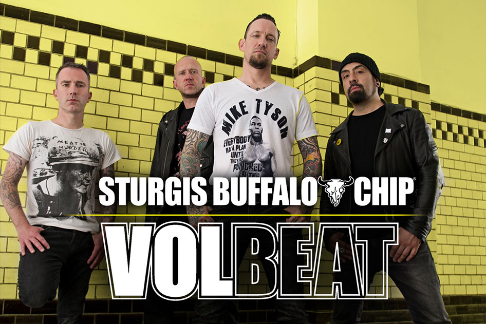 Volbeat Seals the Deal with the Sturgis Buffalo Chip® > The
