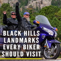 Black Hills Landmarks to Visit During the Sturgis Motorcycle Rally