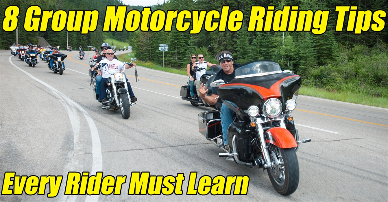 8 Group Motorcycle Riding Tips Every Rider Must Learn - The