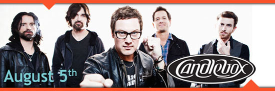 Rock with Candlebox in concert at the Sturgis Buffalo Chip August 5th during the Sturgis Motorcycle Rally.""