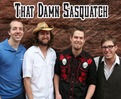 That Damn Sasquatch brings progressive bluegrass sound to rally