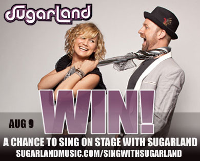 Sugarland offers chance to sing on stage with them at Legendary Buffalo Chip