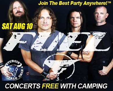 Fuel Sturgis Concert Saturday Aug 10