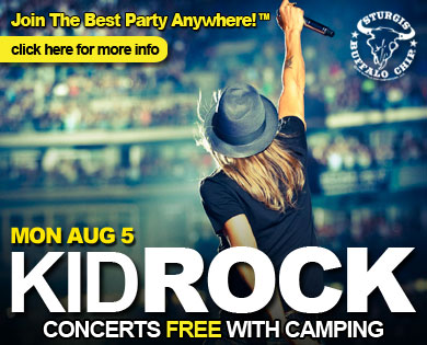 Kid Rock to tear down the Legendary Buffalo Chip during August music festival