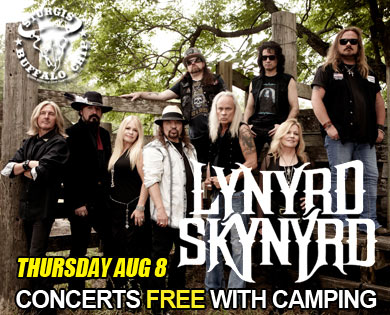 Lynyrd Skynyrd set to play Sturgis bike festival at Legendary Buffalo Chip