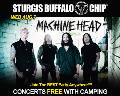 Sturgis bike festival adds Machine Head