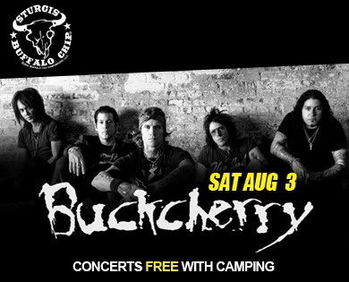 Buckcherry Added to Sturgis concerts