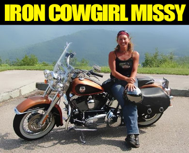 Sturgis music festival welcomes biker music from Iron Cowgirl Missy