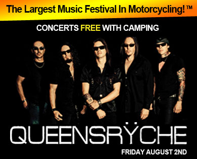 Queensryche joins list of Sturgis concerts at Sturgis Buffalo Chip
