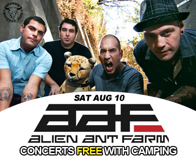 Alien Ant Farm Performs for Sturgis Bike Week