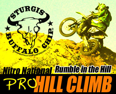 Sturgis Motorcycle Hill Climb – NITRO National Pro Returns to 2013 Sturgis Rally at the Legendary Buffalo Chip