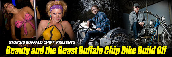 Beauty And The Beast Sturgis Rally Bike Build Competition