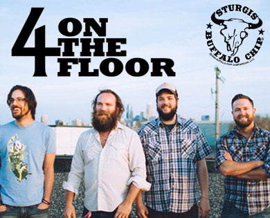 4onthefloor Brings Energy and Soul to Sturgis Rally