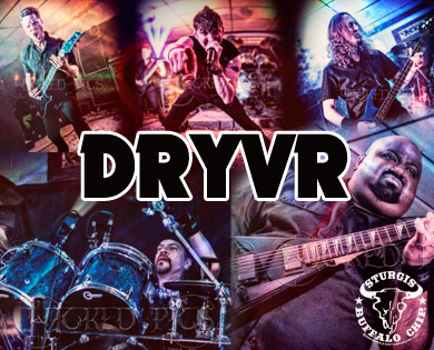 Dryvr Playing Sturgis Rally