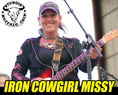 Biker Band, Iron Cowgirl Missy, to Rock Sturgis Rally
