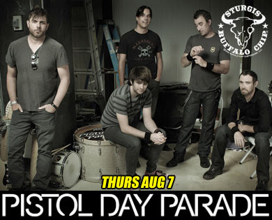 Lineup of Sturgis Concerts to Include Pistol Day Parade