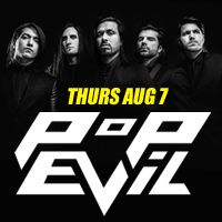 Pop Evil Joins August Music Festival at the Buffalo Chip