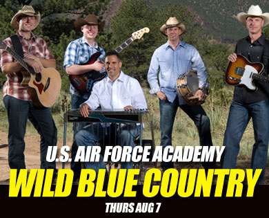 Freedom Celebration Military Tribute to Include Wild Blue Country Performances