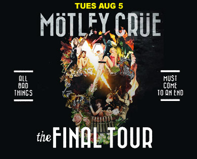 Sturgis Rally Hosts Mötley Crüe on Final Tour