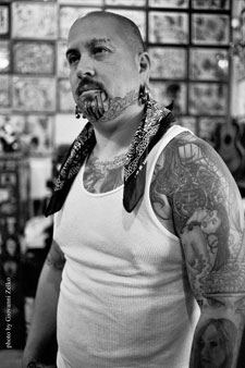 Tattoo caf offers awesome art at sturgis rally for Tattoo shops in mcallen